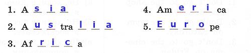 Контрольные работы Rainbow English 3. Unit 7. Вариант 2