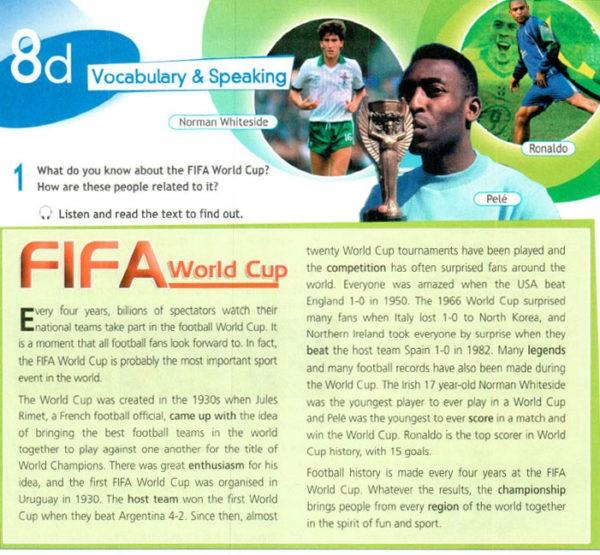 Учебник Spotlight 8. Student's Book. Страница 128