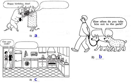Рабочая тетрадь Rainbow English 4. Unit 3. Step 1